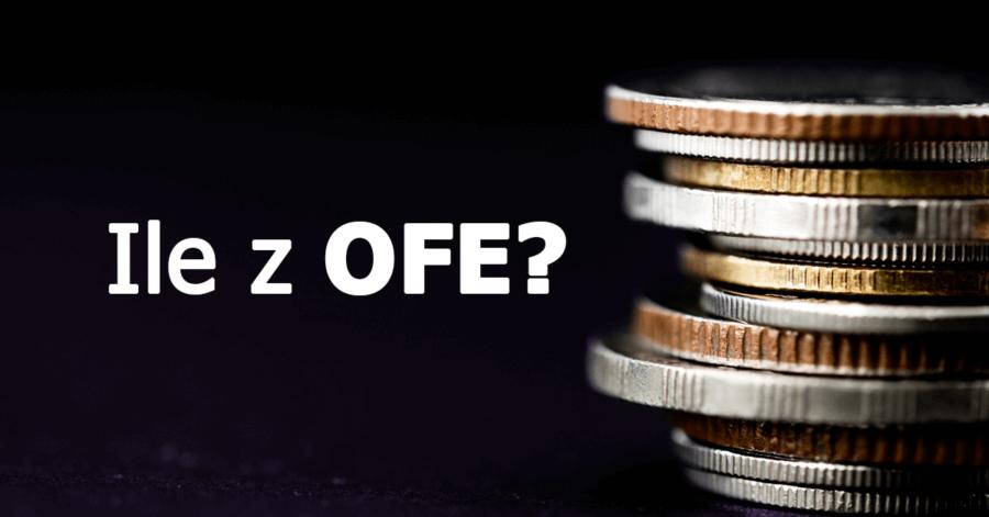 Ile pieniędzy zgromadziliśmy w OFE, a ile w rzeczywistości nam wypłacą?
